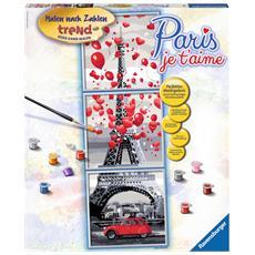 Paris, je t'aime, Pittura acrilica, Set di immagini da colorare