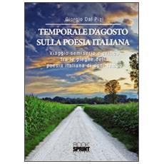 Temporale d'agosto sulla poesia italiana