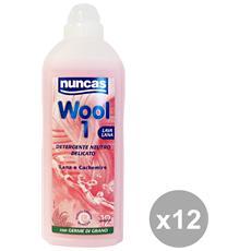 Set 12 Bucato Wool1 Lavalana 750 Ml. Detergenti Casa