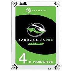 SEAGATE - Hard Disk Interno BarraCuda Pro 4 TB 3.5