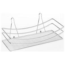 Mensola Rettangolare F / crom Con Ventosa Arredo