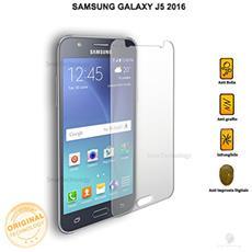 """Pellicola Vetro Temperato Per Samsung Galaxy J5 2016 Sm-j510f 5.2"""""""" Trasparente Protezione Schermo Salva Touch Screen"""