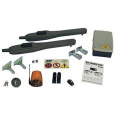 Kit Automazione Per Cancelli A Battente Fino A 250 Kg Prince Rib Ad00732