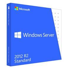 Windows Server 2012 R2 Standard - Licenza e Supporti - OEM DVD 2 Processori Inglese