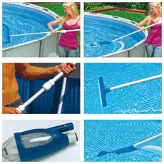 Intex kit pulizia per piscine max cm 549