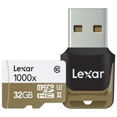 MicroSDHC / MicroSDXC UHS-II 32 GB Professional 1000x Class 10
