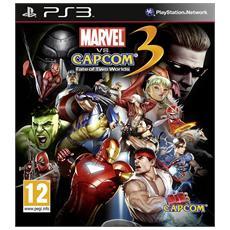 PS3 - Marvel Vs Capcom 3