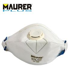 Mascherina di protezione pieghevole con valvole Classe FFP2 Kit10 Pz Maurer