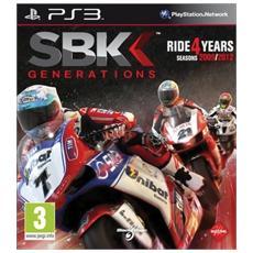 PS3 - SBK Generations