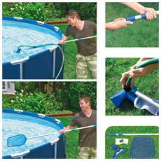 Intex kit pulizia per piscine di dimensione massima cm 488