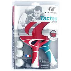 Tacteo pack duo (2 racchette & 3 palline)