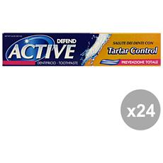Set 24 Dentifricio Active Tartal Control 75 Ml. Prodotti Per Il Viso