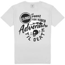 T-shirt Uomo Phonz E San Marco L Bianco