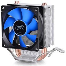 Dissipatore In Alluminio Iceedge Mini Fs V2.0 Con 2 Heatpipe Per Cpu Amd & Intel Con Ventola 80 Mm Deepcool