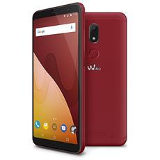 "View Prime Rosso 64 GB 4G / LTE Dual Sim Display 5.7"" HD+ Slot Micro SD Fotocamera 16 Mpx Android Italia"