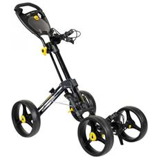 Icart Quattro Compact 4 Wheel Carrello Manuale Golf