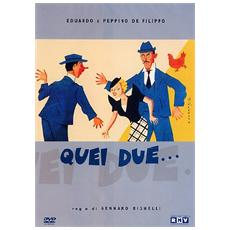 Dvd Quei Due