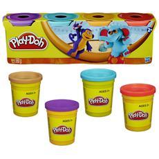 Play-Doh Pasta da Modellare Confezione da 4 Vasetti