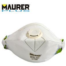 Mascherina di protezione pieghevole con valvola Classe FFP1 Kit10 Pz Maurer
