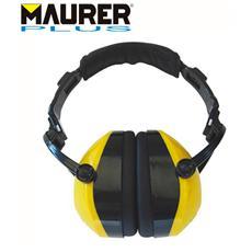 Cuffia antirumore prof. Protezione orecchie archetto regolabile imbottito
