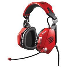 Cuffie con Microfono per Giochi PC Connessione Rossa 2 m MCB434020013/02/1