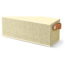 Rockbox Brick Fabriq Edition Speaker Bluetooth - Giallo