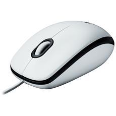 LOGITECH - Mouse USB M100 1000 DPI Colore Bianco