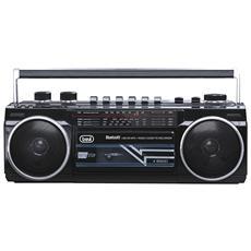 Radio Registratore Bluetooth Trevi Rr 501 Bt Nero