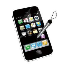 Pellicola di protezione più stilo retrattile per iPhone 3G / 3Gs