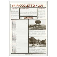 Piccoletto 2011. Con libro (Er)