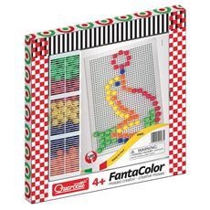 Fantacolor Basic - 100 Chiodini di 15 mm - Lavagnetta Grande