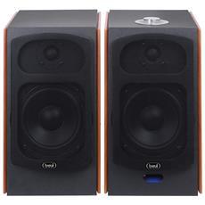 Altoparlanti Amplificati 120w Bluetooth Avx 590 Bt Legno