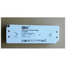 Alimentatore Trasformatore Per Led Actec Slim Cv Mode 12 V 50 Watt Tensione Costante