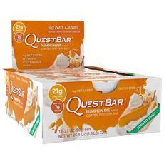 12 X Quest Bar 2.12 Oz (60 G) Eu - Quest Nutrition - Barrette Per Il Recupero - Cioccolato Bianco - Lampone