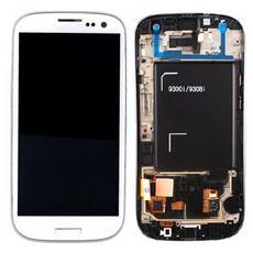 Schermo LCD + Touch Screen di Ricambio per Smartphone Bianco GH97-15472B
