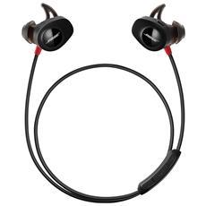 SoundSport Pulse, Stereofonico, Interno orecchio, Nero, Rosso, Intraurale, Digitale