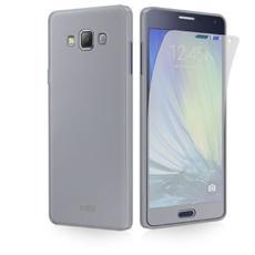 Cover Aero per Samsung Galaxy A7 Trasparente con Pellicola Protettiva Inclusa