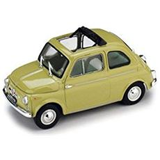 Bm0404-09 Fiat 500 D Aperta 1960 Verde Oasi 1:43 Modellino