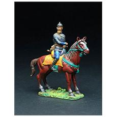 W4808 Mounted Opricknik Ivan The Terrible Modellino