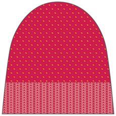 Cappello Uomo Chiara Beanie Rosso 56