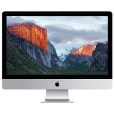 """iMac Monitor 21.5"""" Retina 4K Intel Core i5 Quad Core 3 GHz Ram 8GB Hard Disk 1TB AMD Radeon Pro 555 2GB 4xUSB 3.0 2xThunderbolt 3 OS X"""