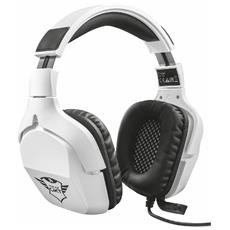 Cuffie Gaming GXT 345 Creon 7.1 Colore Bianco