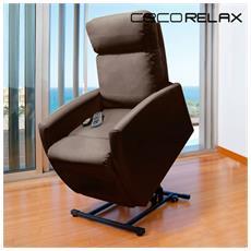 Poltrona Relax Massaggiante Alzapersona Cecorelax Compact 6008