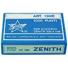 Punti universali Zenith - Punti metallici 130 / E (6/4) - 130 / E (conf. 10x1000)