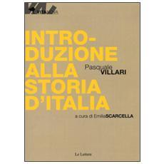 Introduzione alla storia d'Italia