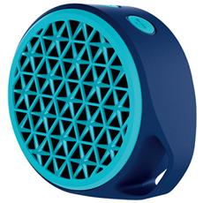 Speaker Audio Portatile X50 Bluetooth Potenza 3W Blu