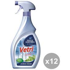 Set 12 Vetri Trigger 750 Ml. Detergen