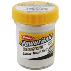 Pasta Powerbait Glitter Trout Bait Bianco Unica
