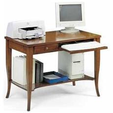 Scrittoio-scrivania P / computer In Toulipier X Ufficio Studio Cameretta
