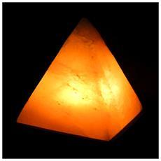 Lampada Di Sale Himalayano A Forma Di Piramide Da 4/6 Kg